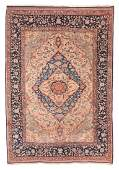 Fine Antique Persian Mohtasham Kashan Rug