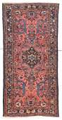 fine antique persian Lilihan from hamedan area