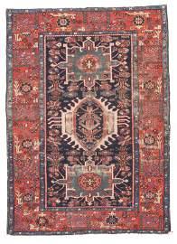 Fine Antique Persian Karaje Heriz - 4'7'' X 6'3''