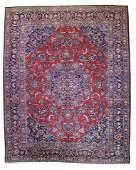 Fine Semi-Antique Persian Kashan - 9'8'' X 12'6''