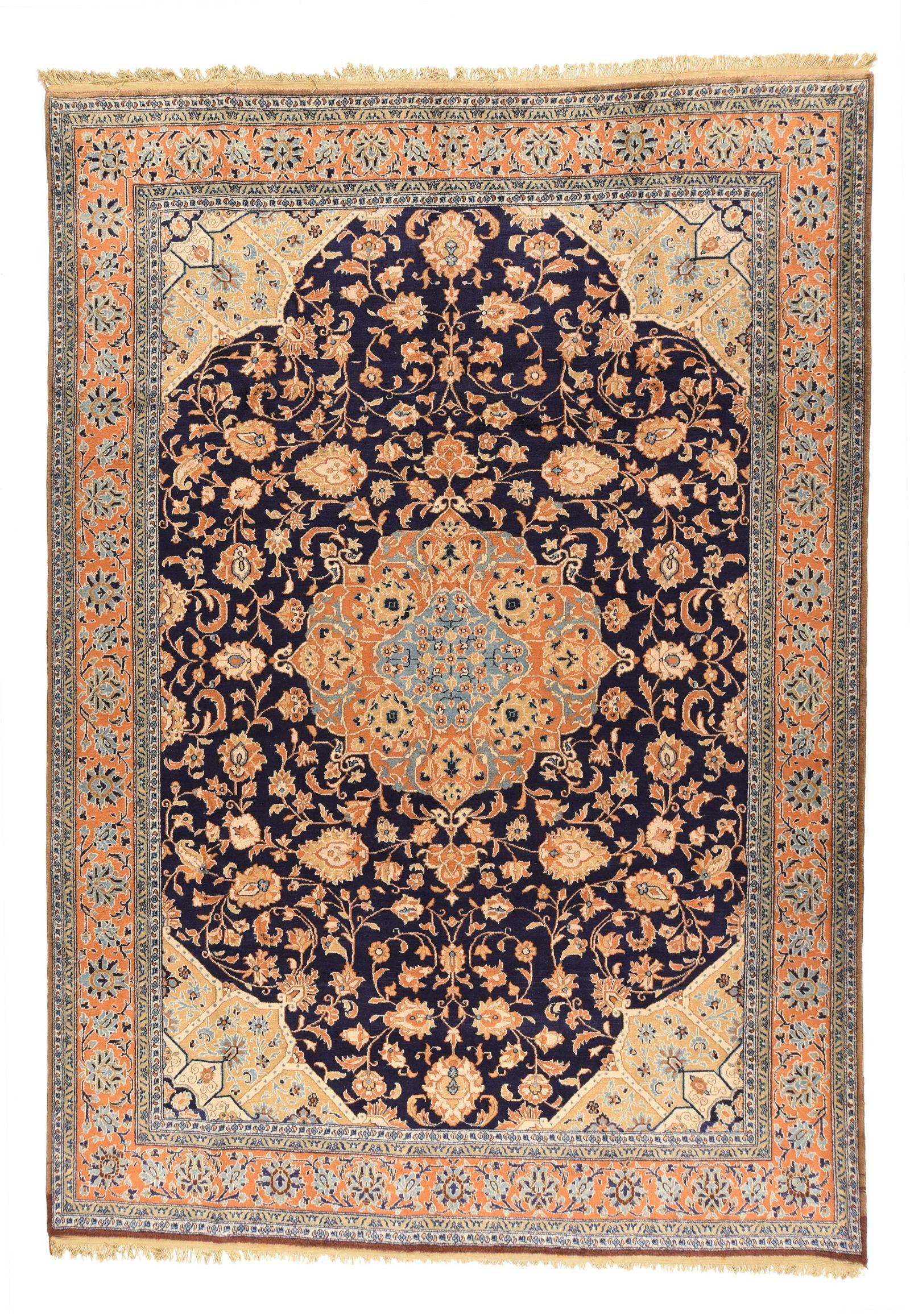 Fine Semi Antique Persian Kashan 8' 2'' x 11' 6''