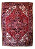 Fine Semi Antique Persian Heriz  78 X 110