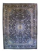 Fine Semi-Antique Persian Kashan - 9'9'' X 12'10''