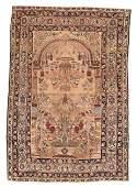 Fine Antique Lavar Kerman 4'4'' x 6'2''