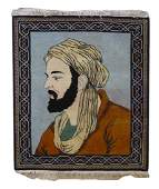 "Vintage Persian Pictorial, 2'9"" x 3'2"""