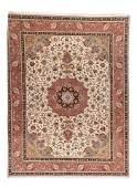 Persian Tabriz Wool & Silk, 9'10'' X 12'10''