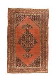Antique Persian Bijar, 8'8'' X 14'3''