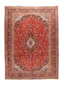 Semi Antique Kashan 911 X 143