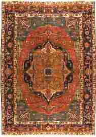 Persian Bakshyesh Rug, 8'11'' x 11'7''