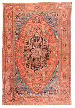 Heriz Serapi Persian, 11'7'' X 18'5''