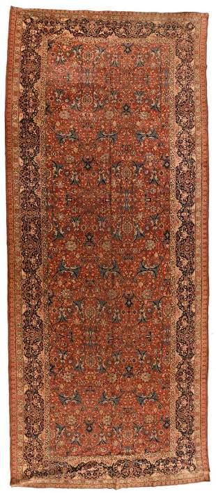 Persian Tabriz, 7'5'' X 17'4''