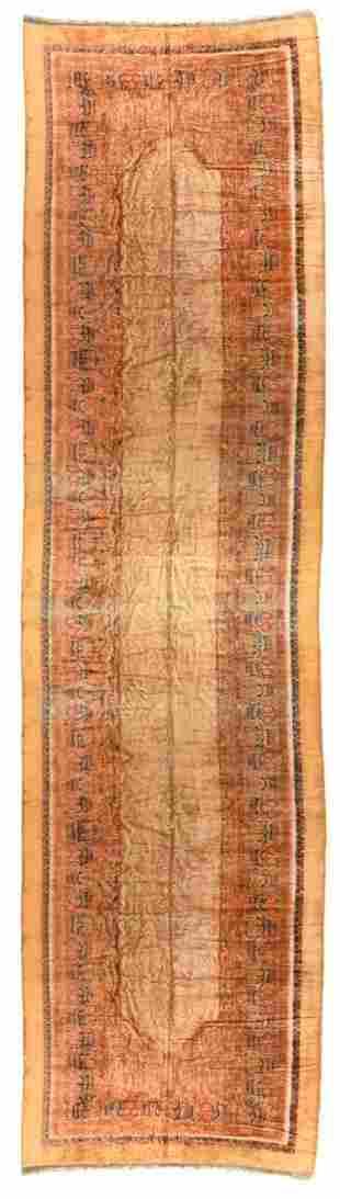Europian With Persian Camel Sarab Design, 9'4'' X