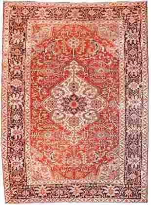 Persian Serapi Rug, 8'9'' x 13'0''