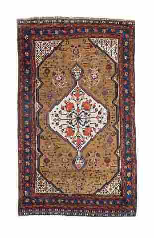 """Qashqai Persian Rug, 3'5"""" X 5'8"""""""