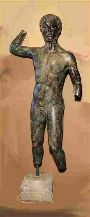 Roman Figure Bronze