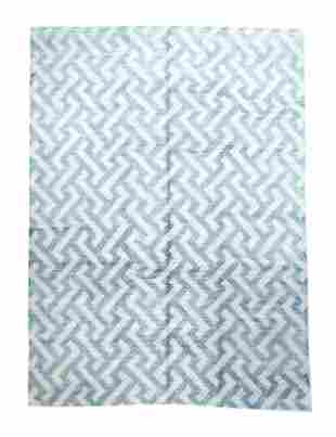 "Modern Wool Rug, 8'8"" x 11'9"""