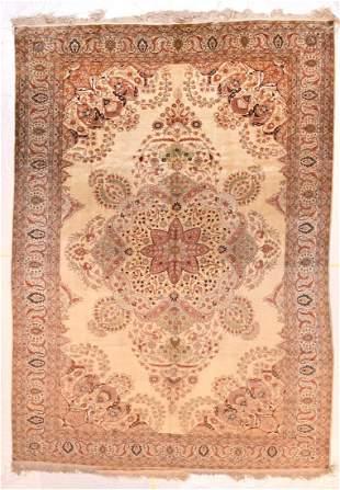 Vintage Silk Turkish Hereke , 6'5'' x 9'6''