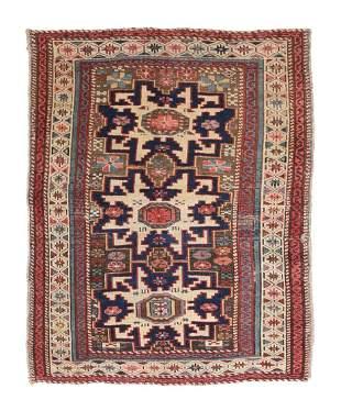 Antique Caucasian Shirvan, 2'7'' x 3'2''