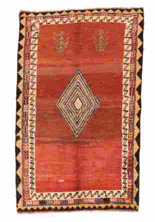 Vintage Persian Gabbeh, 3'9' x 6'