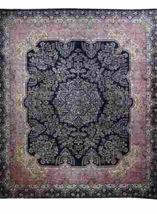 "Vintage Persian Kerman, 11'9"" x 14'4"""