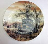 Scott Kuhnly Classy Cars Commemorative Plate