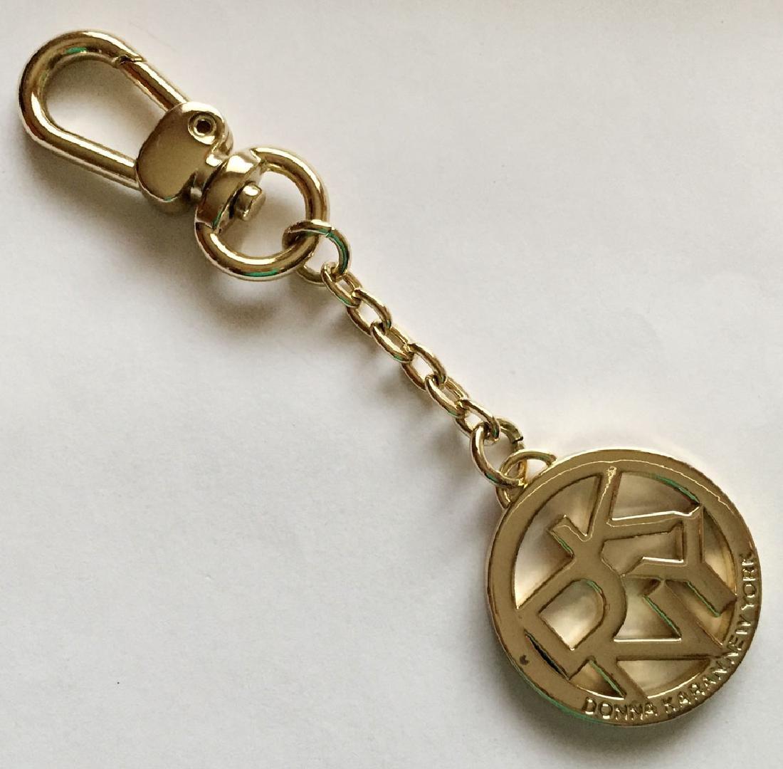 Donna Karan New York gold plated key chain. Length 4