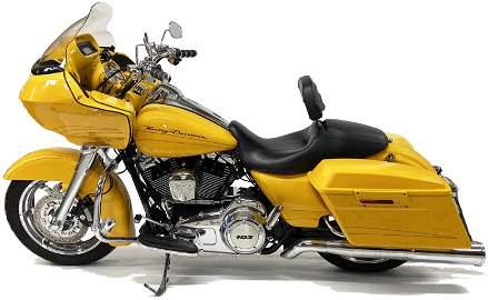 2012 FLTRX Road Glide Harley Davidson Motorcycle.