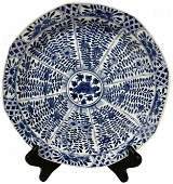Chinese Kang Xi Mark & Period Porcelain Plate.