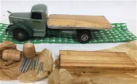 Vintage Smith Miller Material Truck Mack Flatbed.