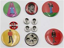 Lot of Vintage Beatles Pins