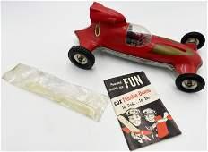 """Vintage Thimble Drome """"Prop Rod"""" Toy Race Car."""