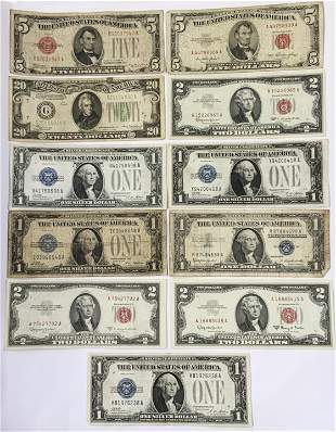 Lot of Asst. U.S. Currency.