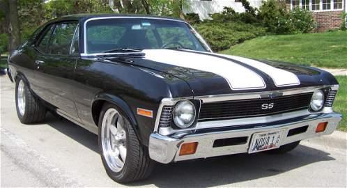 1971 Chevy Nova Pro Touring Show Car.