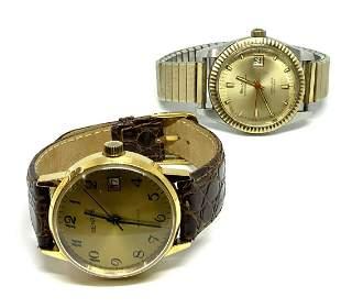 Lot: Benrus & Bulova Oceanographer Watches.