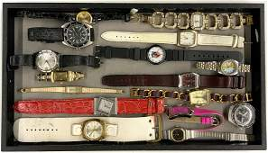Lot of Assorted Watches, Mostly Ladies'.