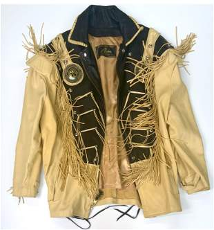 Richie Wright Collections in Leather Jacket.