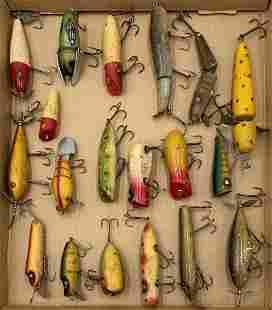 Large Lot of Vintage Fishing Lures.