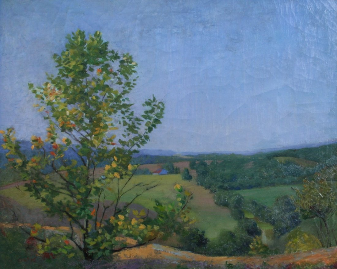 Marie Goth: Indiana Summer Landscape