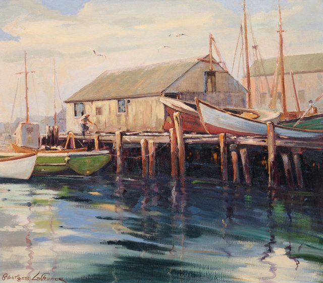 Georges LaChance: Gloucester Harbor