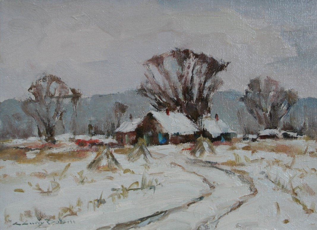 "C. Curry Bohm: ""The Early Snow"""