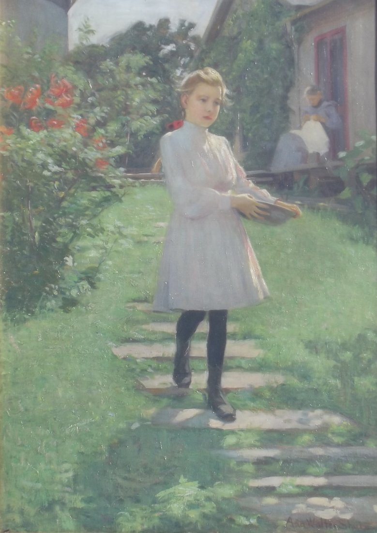 "Ada Walter Shulz: ""Path to the Garden"""