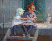 Ada W. Shulz: On the Porch