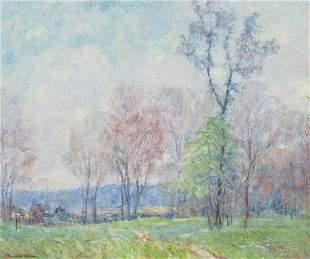 Edward K. Williams: Spring Landscape, Brown County