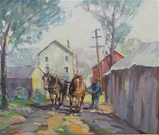 Georges La Chance: Back Alley, Brown County