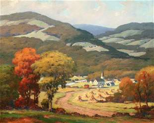 Anthony Buchta: Village in the Valley