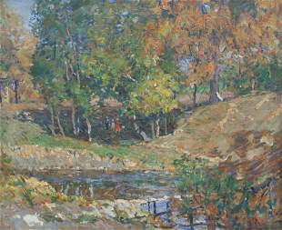 William Forsyth: River Walk, Under the shade Trees
