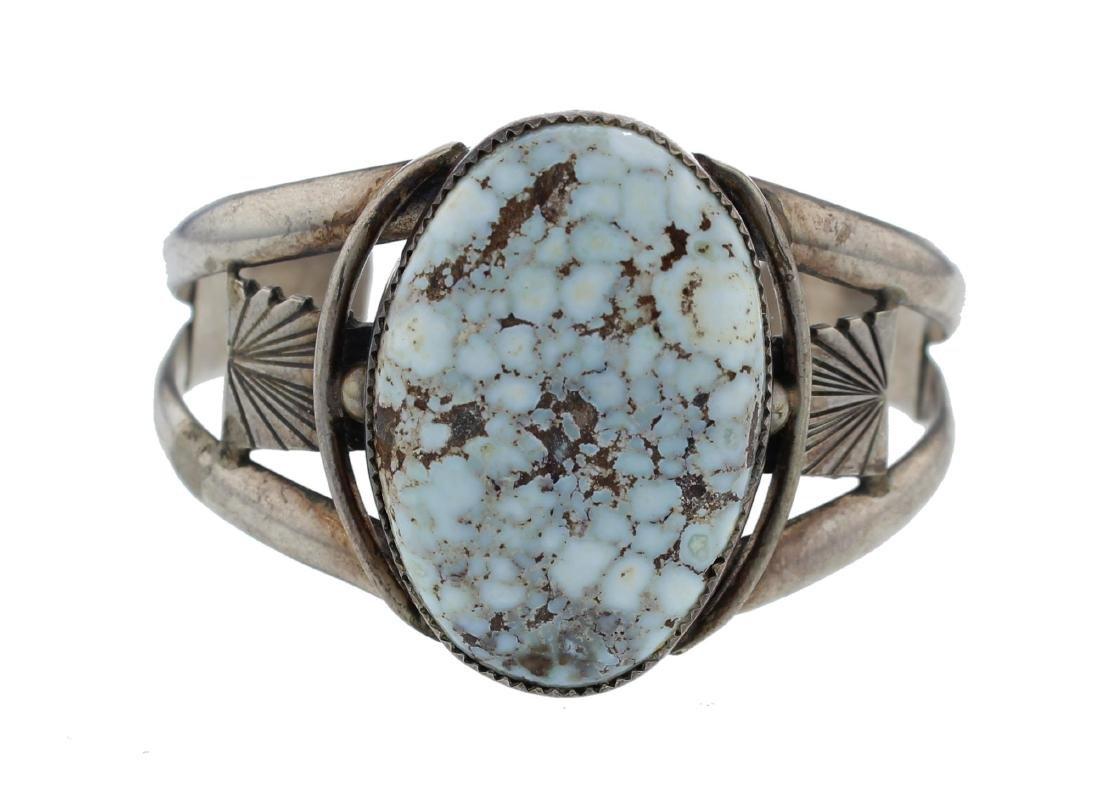 Sterling Silver  Dry Creek Turquoise Vintage Bracelet