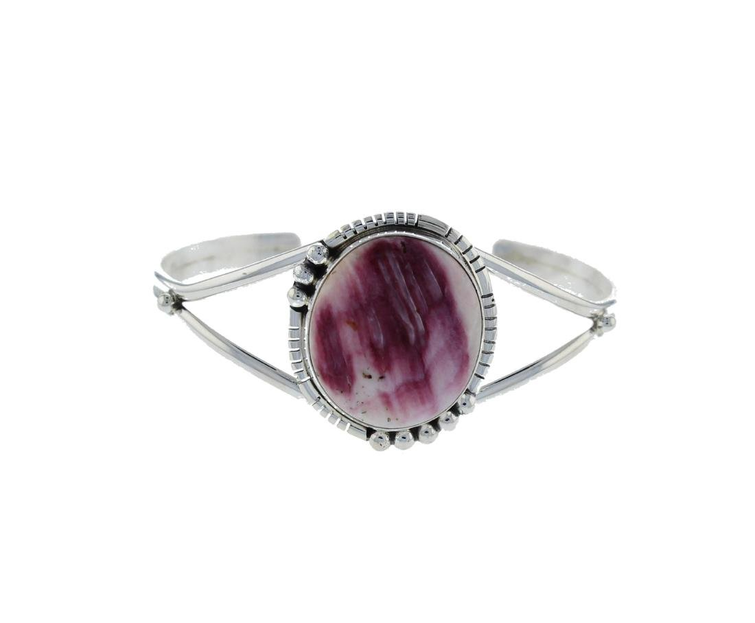 Sterling Silver  Purple Spiny Oyster Navajo Native