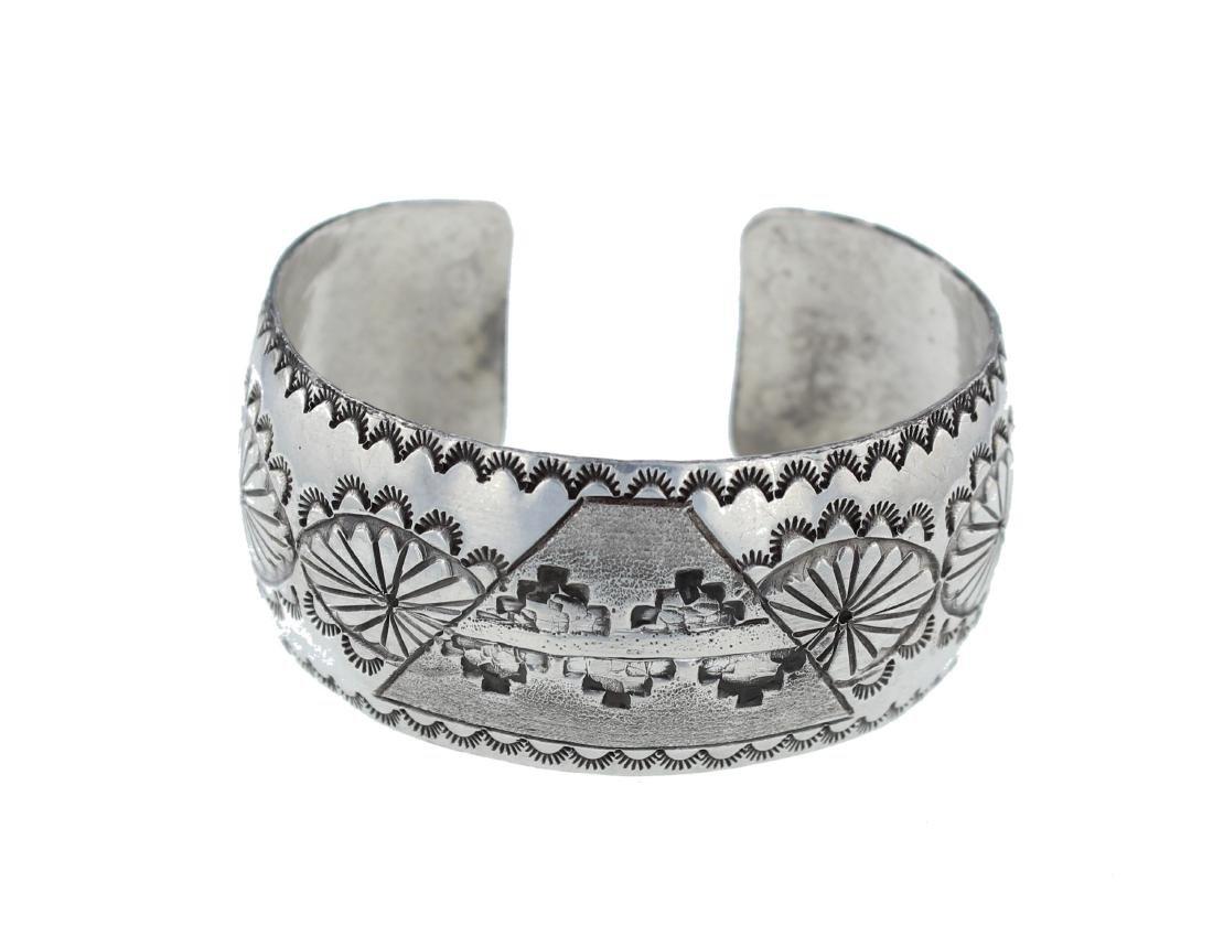 Sterling Silver Classic Bracelet Navajo Native American