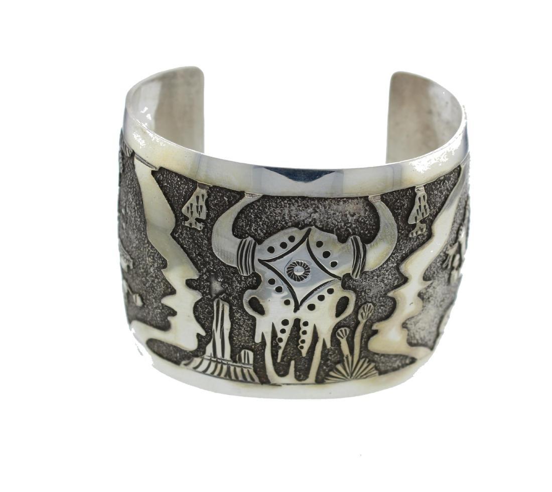 Sterling Silver Masterpiece Bracelet Navajo Native